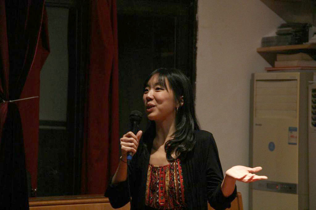 Kathy Huang, the director